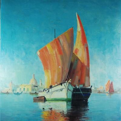 Watercolour Chalice 044