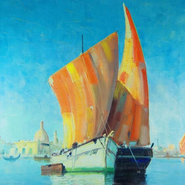 Watercolour Chalice 045