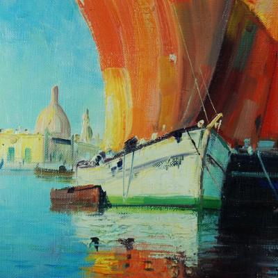 Watercolour Chalice 048
