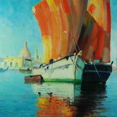 Watercolour Chalice 049