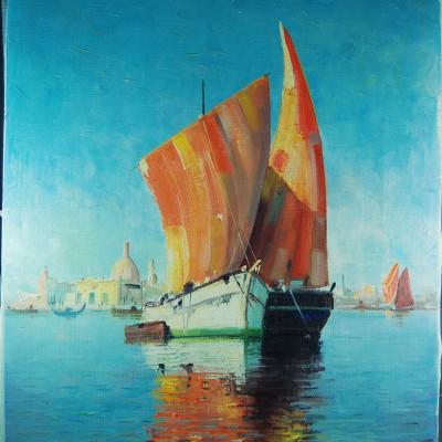 Watercolour Chalice 051