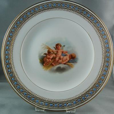 Meissen Plate 19th Century
