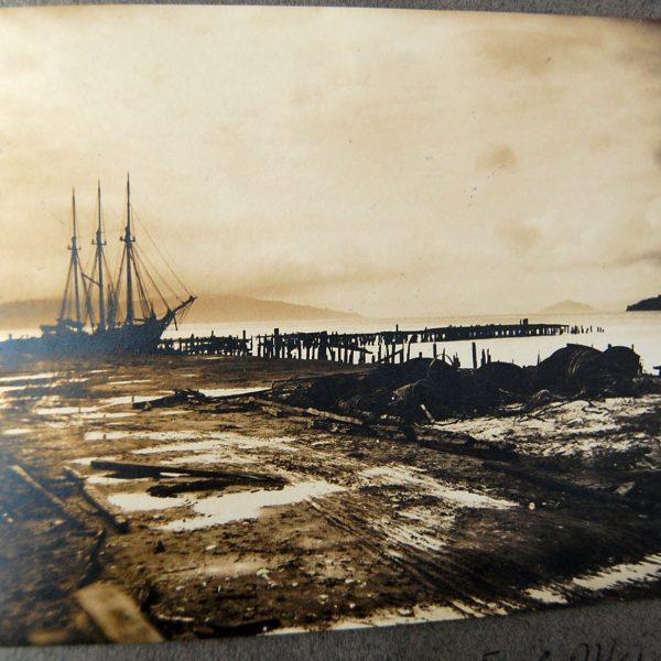 about 1/4 mile E of Meiggs Wharf Sausalito Alcatraz